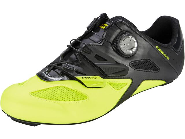 d50fa9e0c9bb1e Mavic Cosmic Elite - Chaussures - jaune/noir - Boutique de vélos en ...